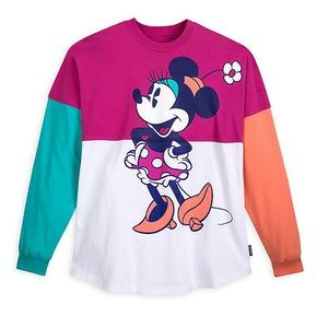 Disneyland Spirit Jersey - Minnie Mouse neon color